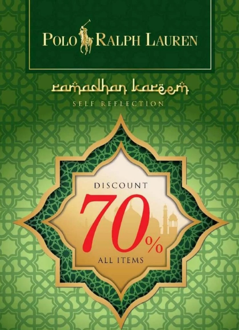 POLO Ramadan Kareem Sale up to 70% off all items