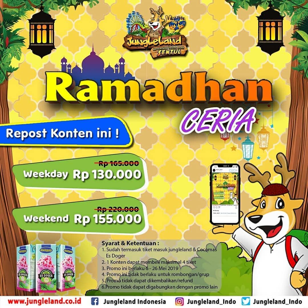 JUNGLELAND Promo Special Hemat Ramadhan