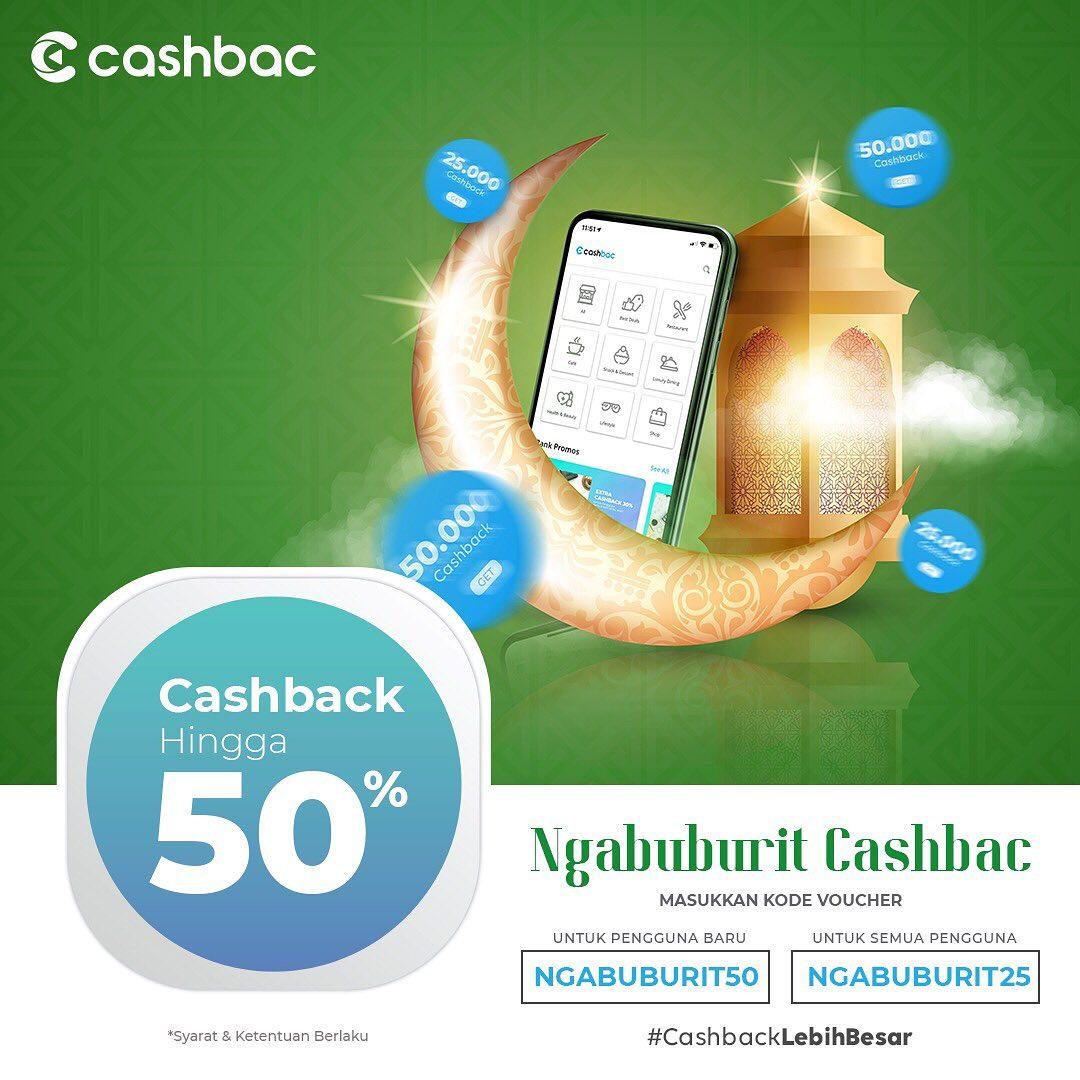 STEAK 21 Promo CASHBACK hingga 50% dengan CASHBAC App