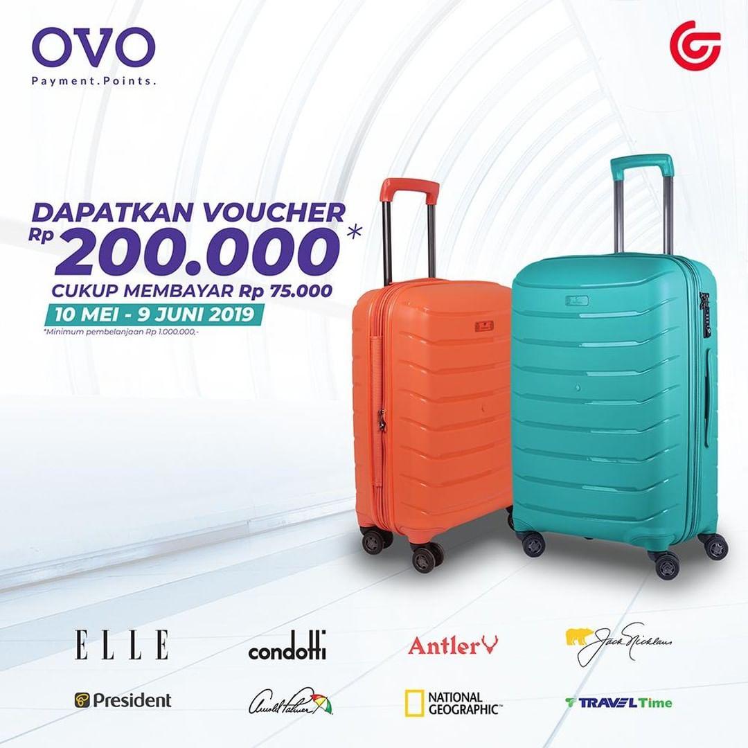 Diskon MATAHARI Department StorePromo DapatkanVoucher Rp. 200.000 hanya Rp. 75.000 dengan OVO