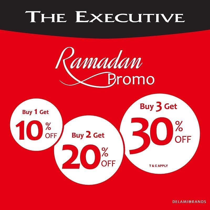 THE EXECUTIVE Ramadan Promo sampai 30% off