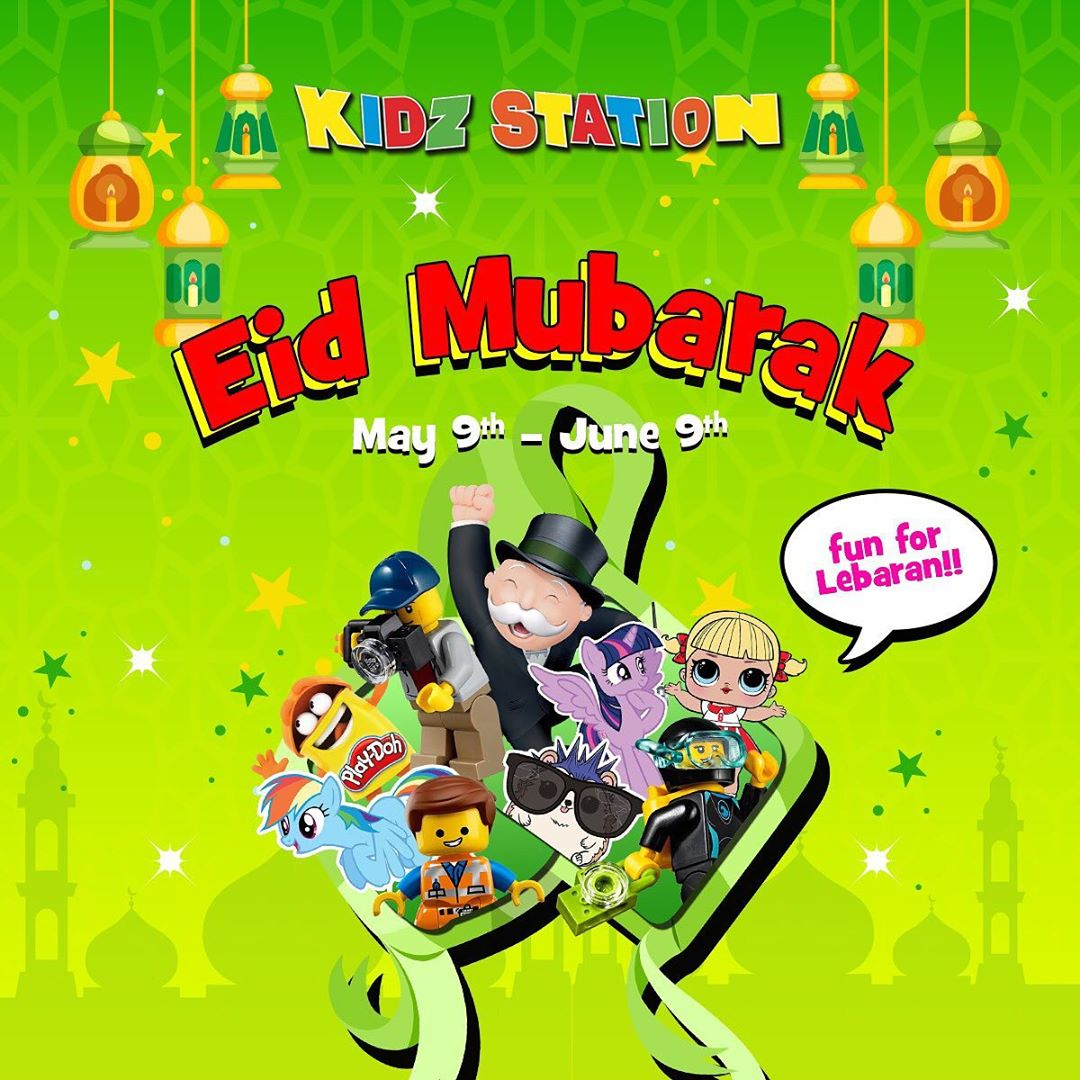 Diskon KIDZ STATION Eid Mubarak Special Promo