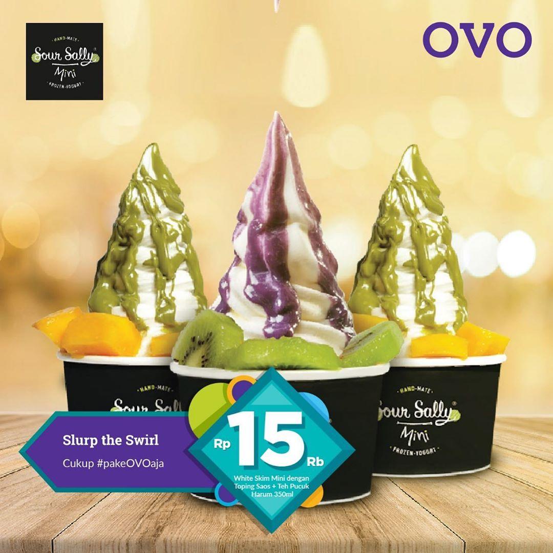 Sour Sally Promo Harga Spesial Rp.15.000 dengan OVO