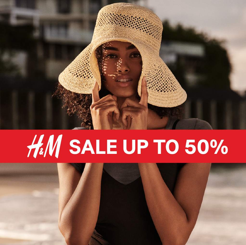 H&M END OF SEASON SALE up to 50% off