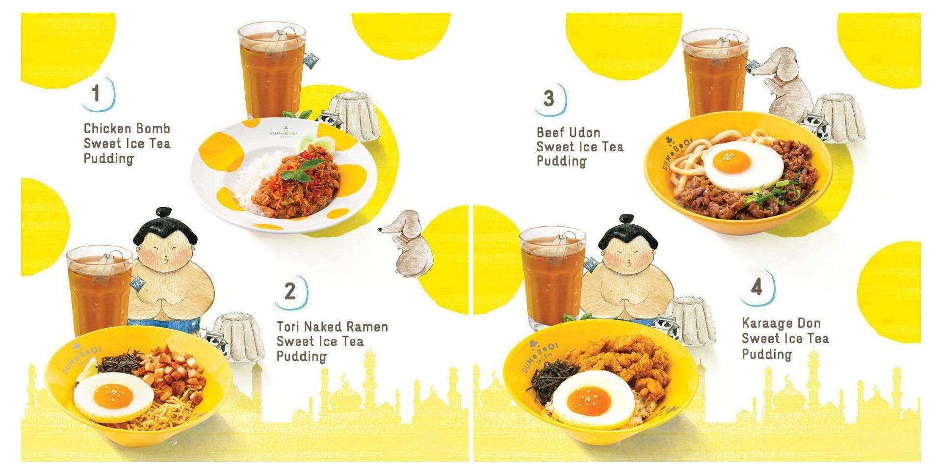 SUMOBOO Promo Ramadhan Set Menu Only Rp 38.800,-