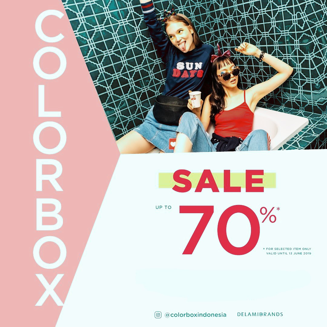 Diskon COLORBOX BIG SALE UP TO 70%
