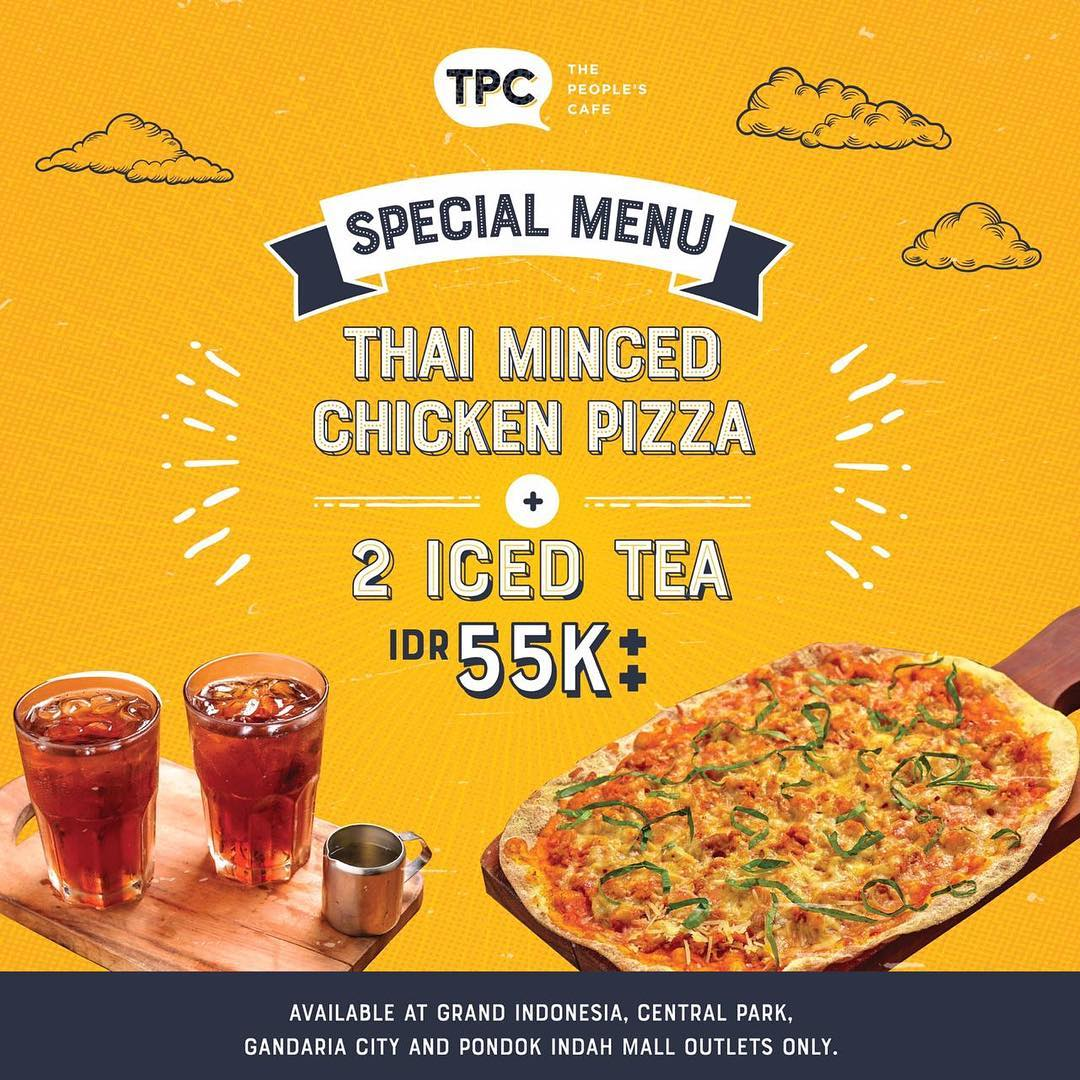The People's Cafe Promo Menu Special cuma Rp.55.000