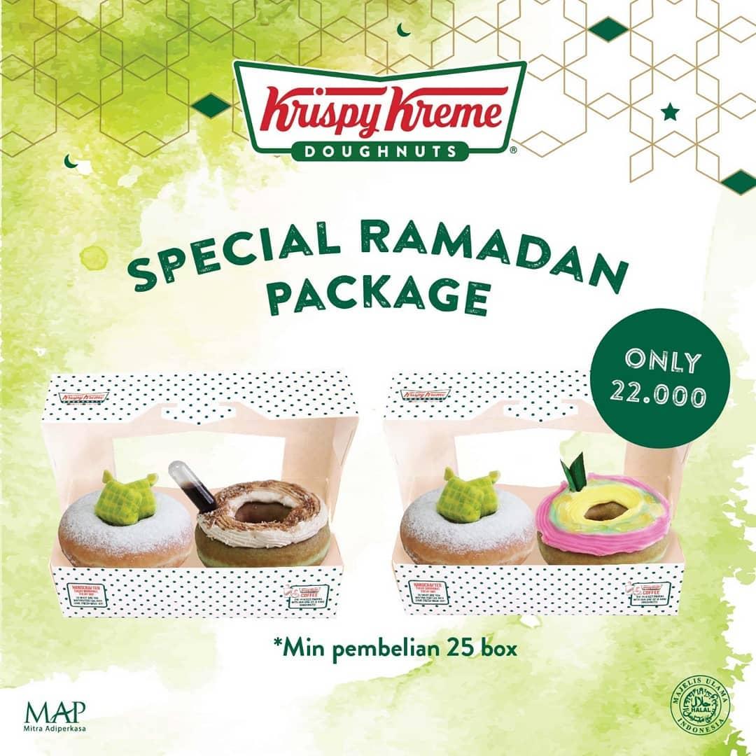 Diskon KRISPY KREME Promo Special Ramadhan Package Only Rp.22.000