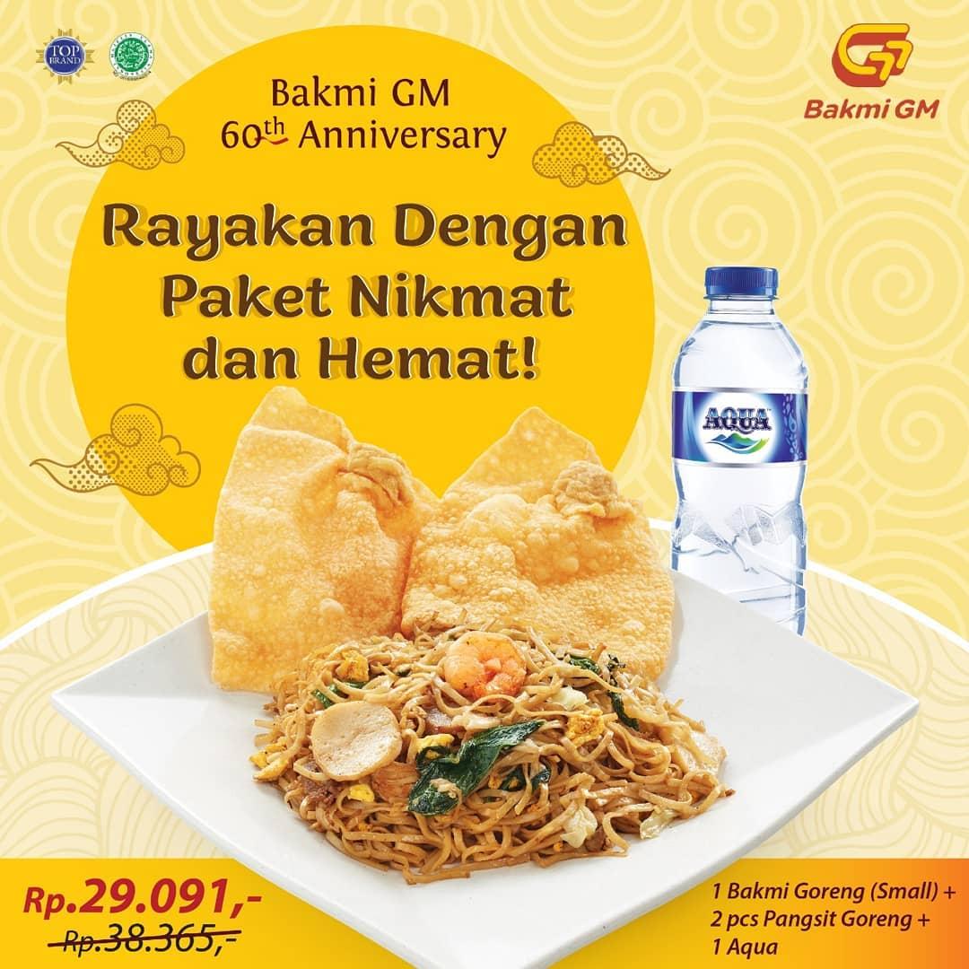BAKMI GM Promo Paket Hemat Rp.29.091