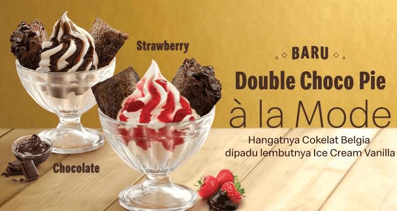 McDonalds Promo Menu Terbaru Double Choco Pie Ala Mode