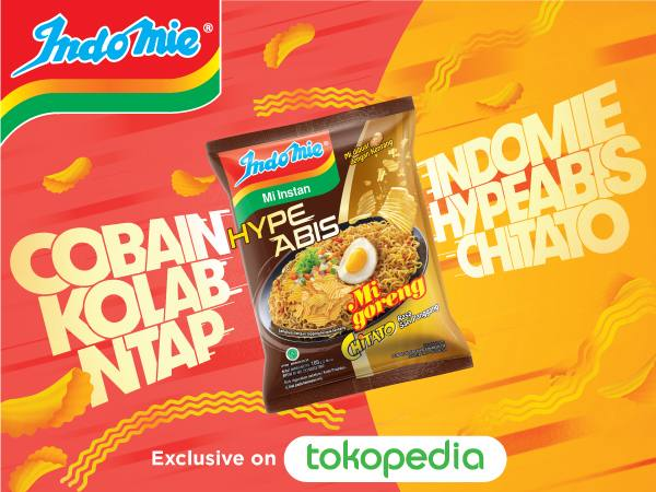 TOKOPEDIA.COM Exclusive on Tokopedia!! Indomie Hype Abis CHITATO!