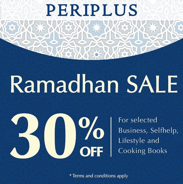 Periplus Promo Ramadhan Diskon 30%