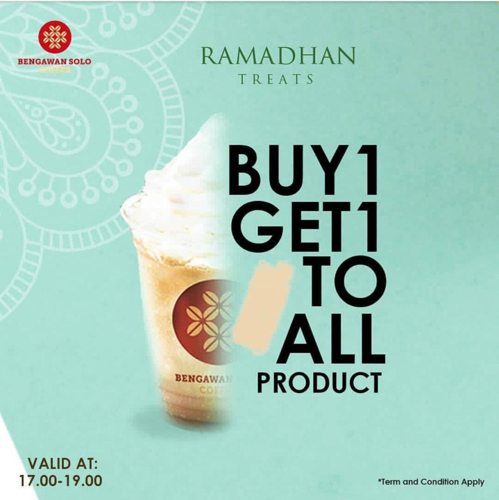 Diskon BENGAWAN SOLO COFFE Ramadhan Treats Beli 1 GRATIS 1