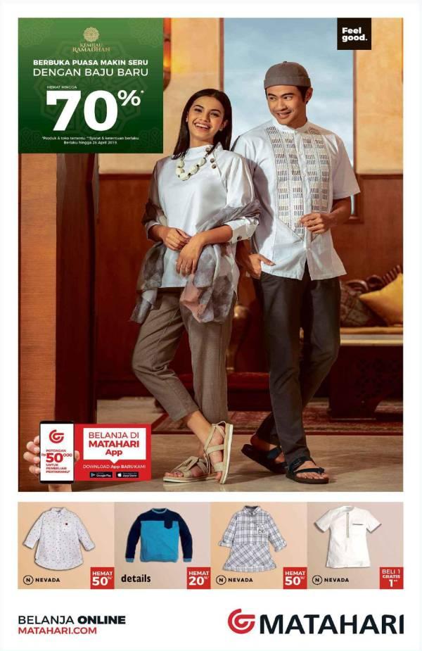 Matahari Department Store Promo Ramadhan Hemat hingga 70%