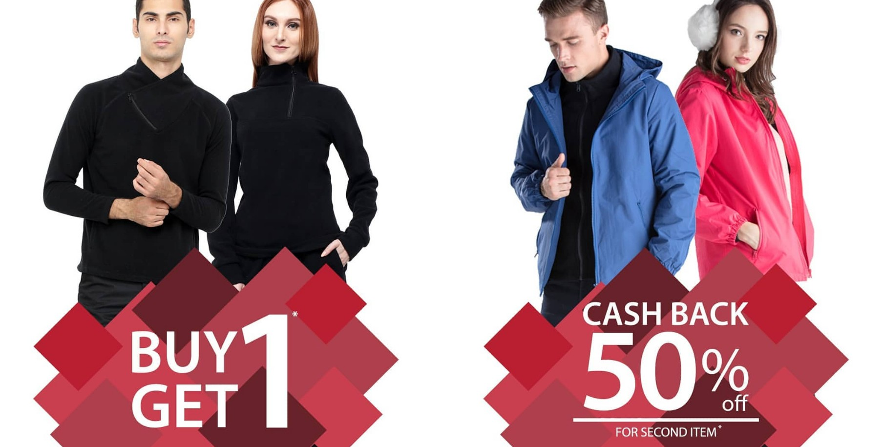 Diskon Coldwear Promo Buy 1 Get 1 dan Cashback sampai 50%