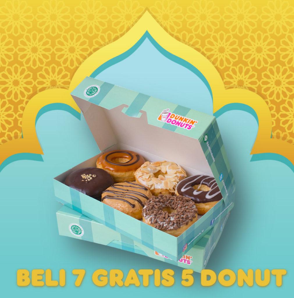 Dunkin Donuts Promo Beli 7 Gratis 5 dengan Kupon LINE
