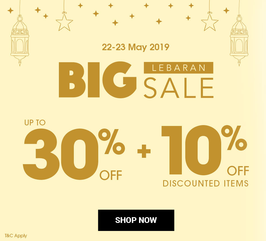 PLANETSPORT.ASIA Promo BIG LEBARAN SALE Disc up to 30% + 10% Off