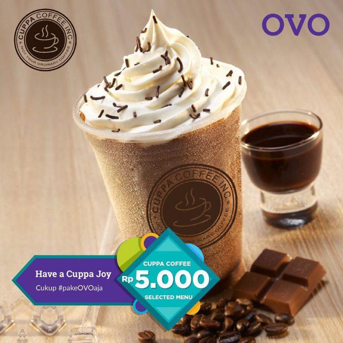 Cuppa Coffee Promo Cuma 5 Ribu + Cashback 30% pakai OVO