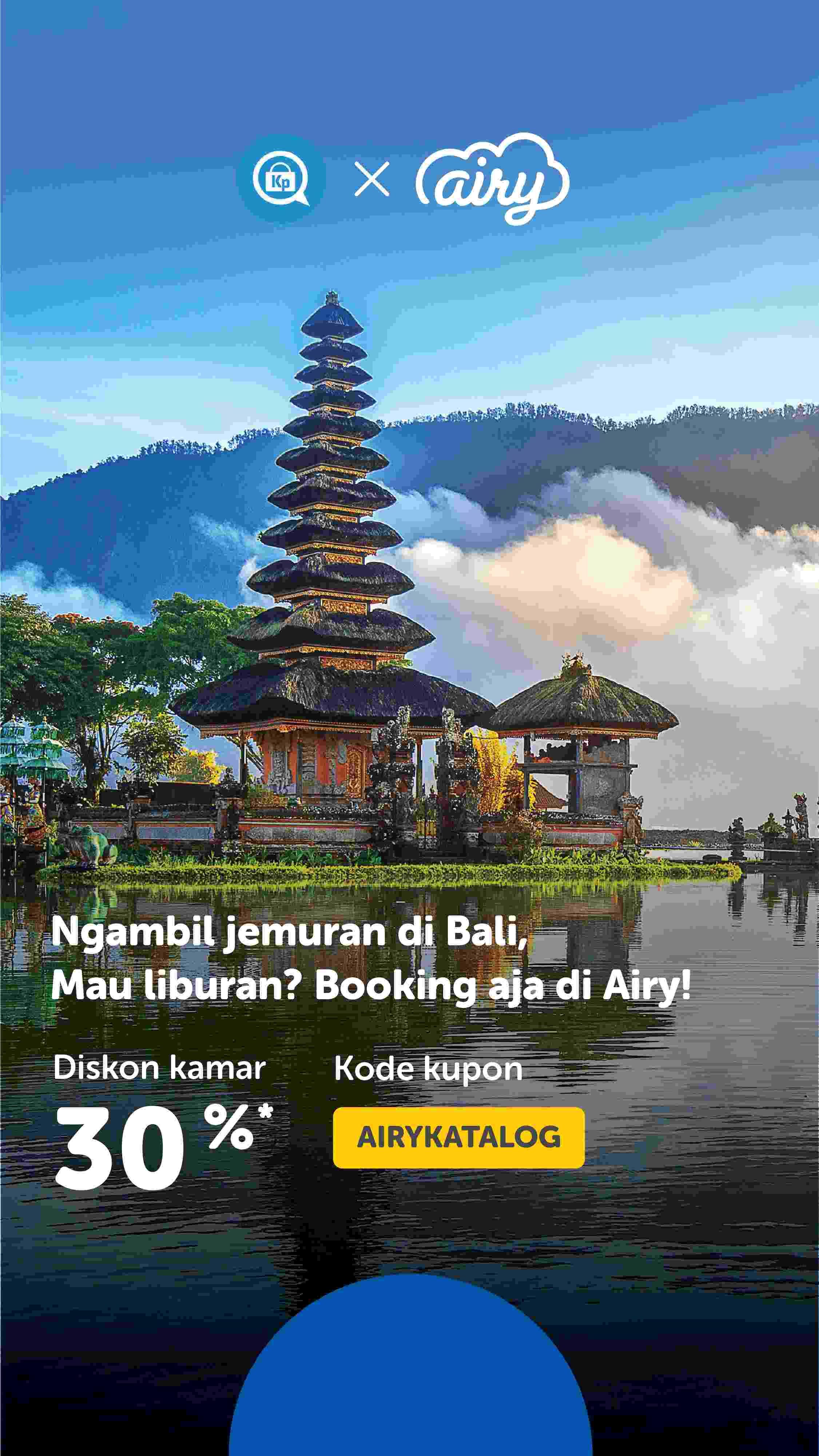 Diskon Airy Promo Diskon Kamar 30%