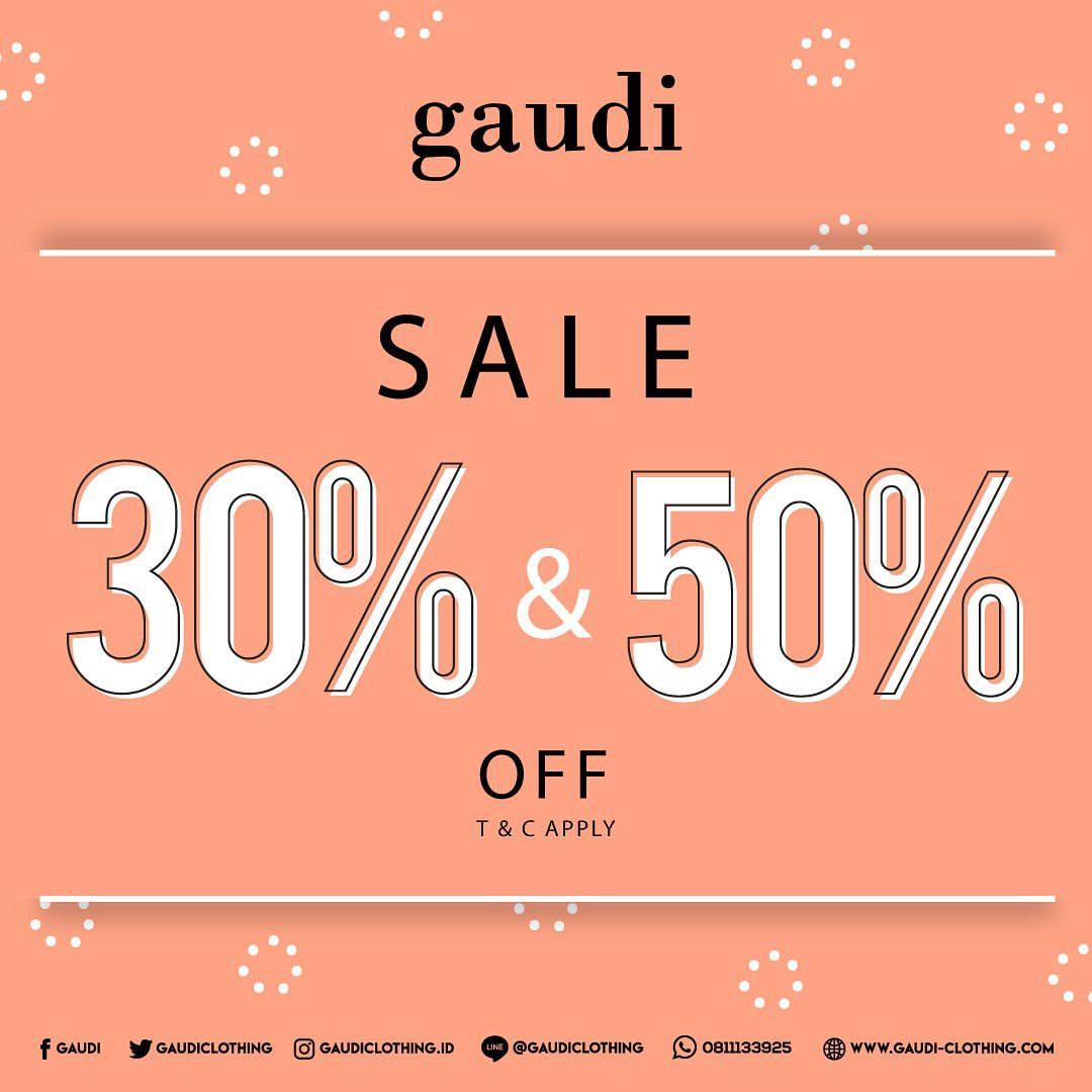 Gaudi Sale 30% & 50% Off