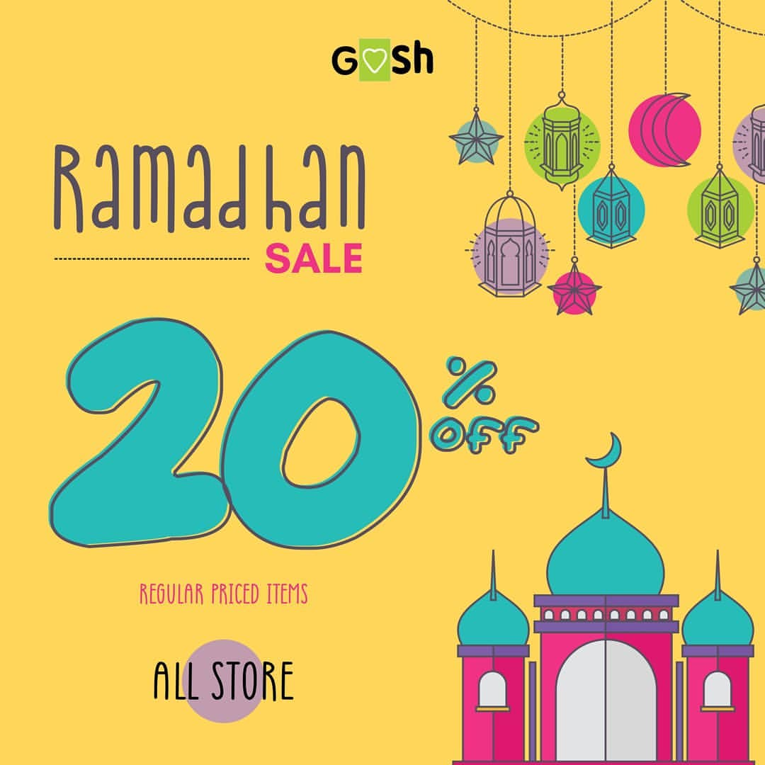 Goshshoes Ramadhan Sale Promo Discount 20% off