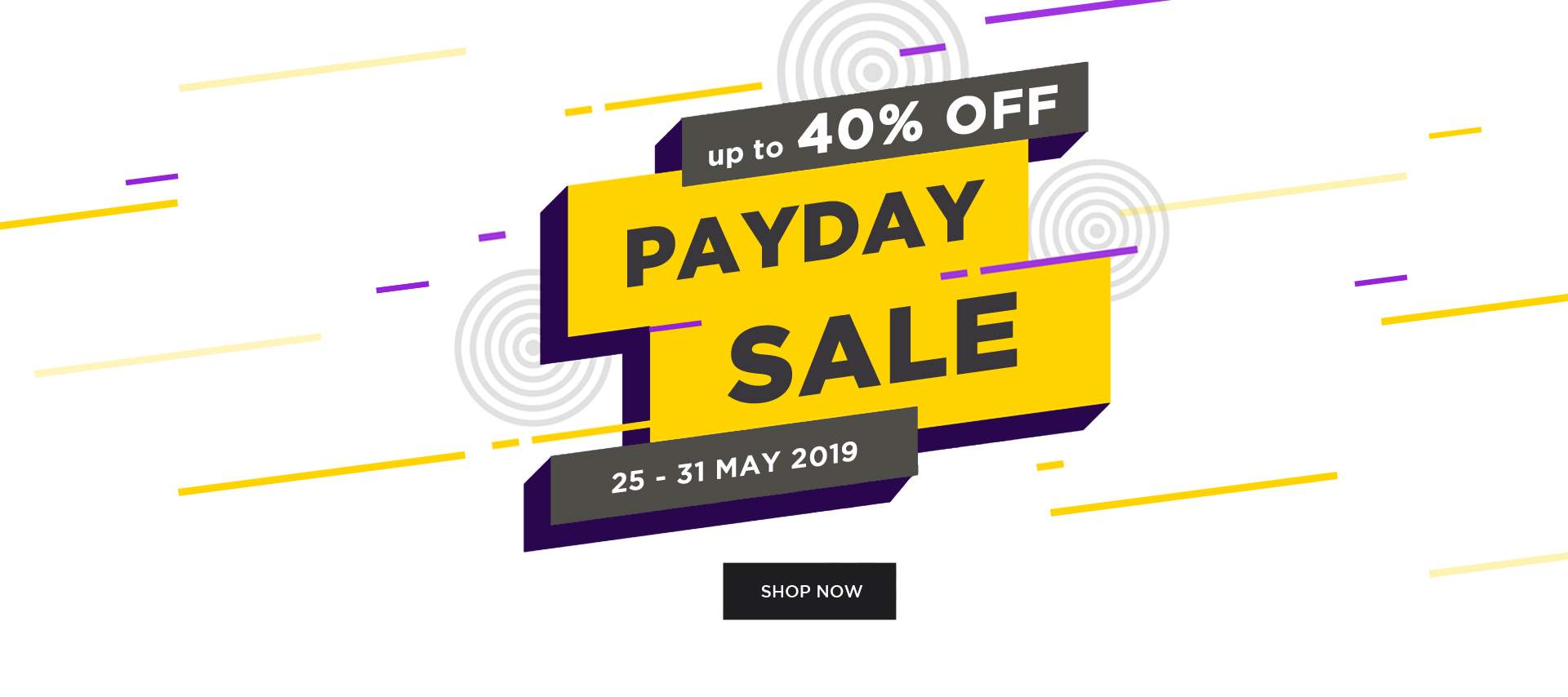 Urban Icon Payday Sale up to 40% off