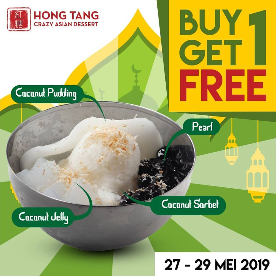Hong Tang Promo Beli 1 Gratis 1 Thai Coconut