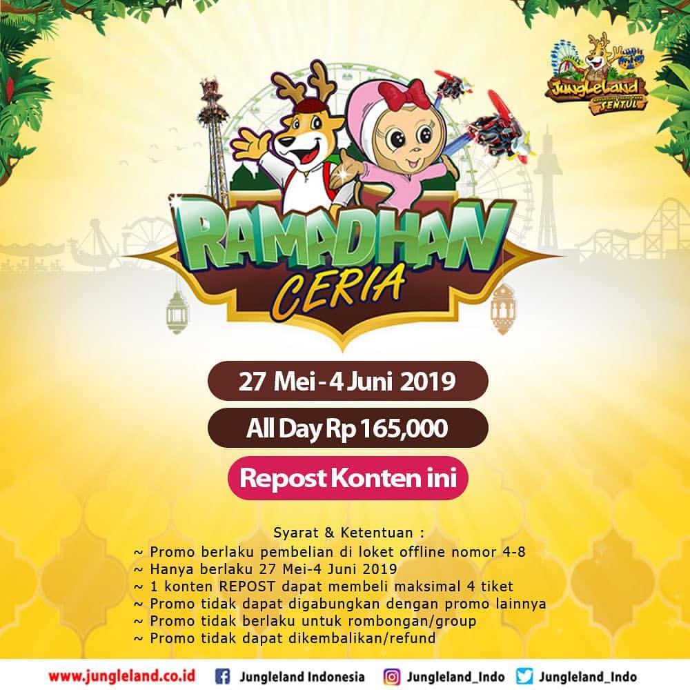 Diskon JUNGLELAND Promo Special Hemat Ramadhan