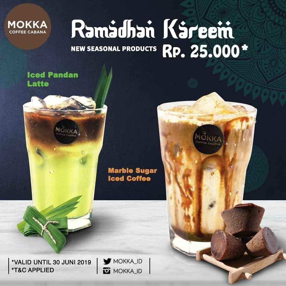 Diskon Mokka Coffee Cabana Present New Seasonal Products Ramadhan Kareem