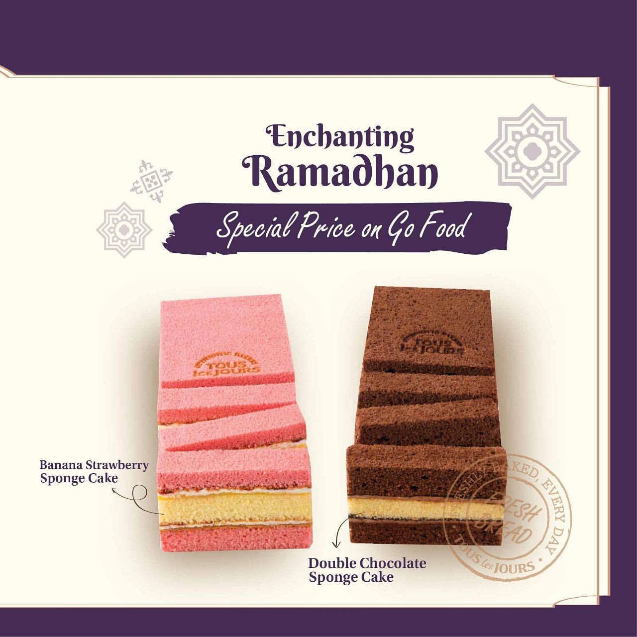 Tous Les Jours Enchanting Ramadhan Promo Special Price on GoFood