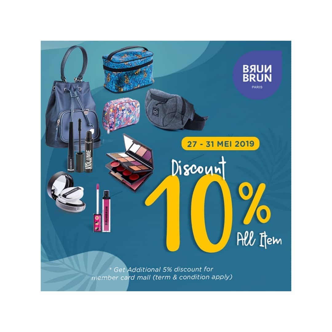 Diskon Brun Brun Paris Promo Discount 10% All Item