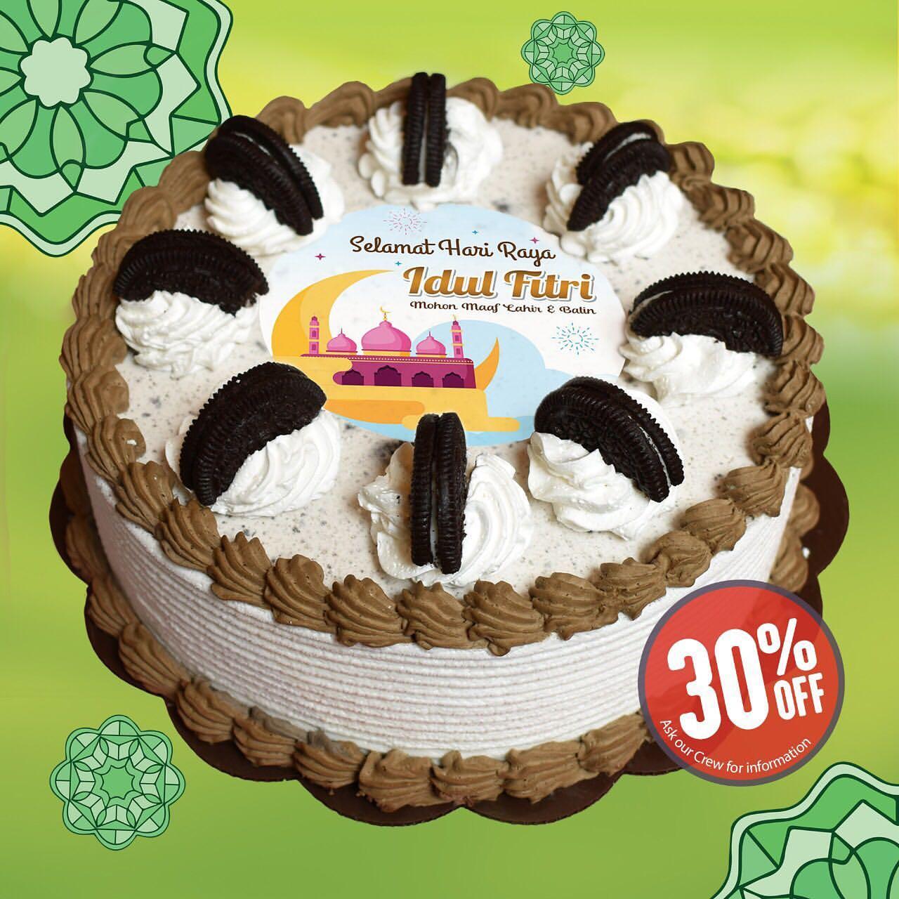 Dairy Queen Promo 30% untuk OREO CAKES