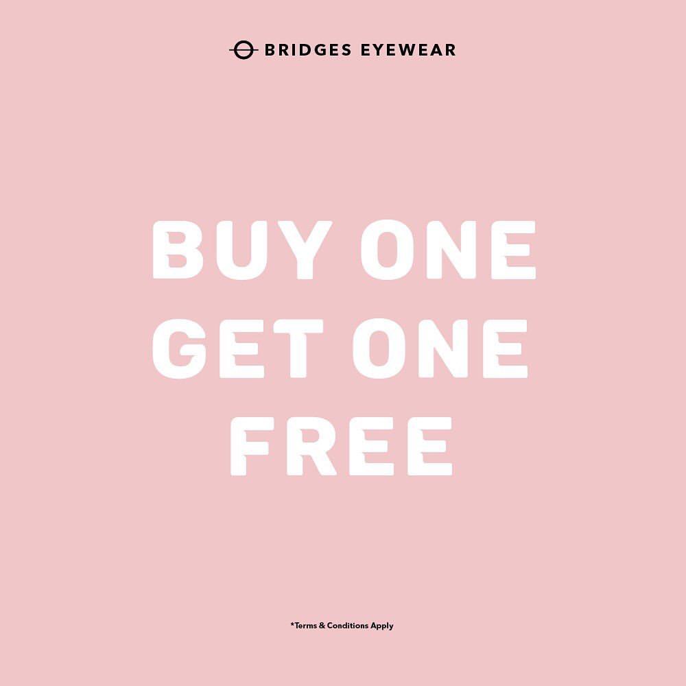 Bridges Eyewear Promo Beli 1 Gratis 1