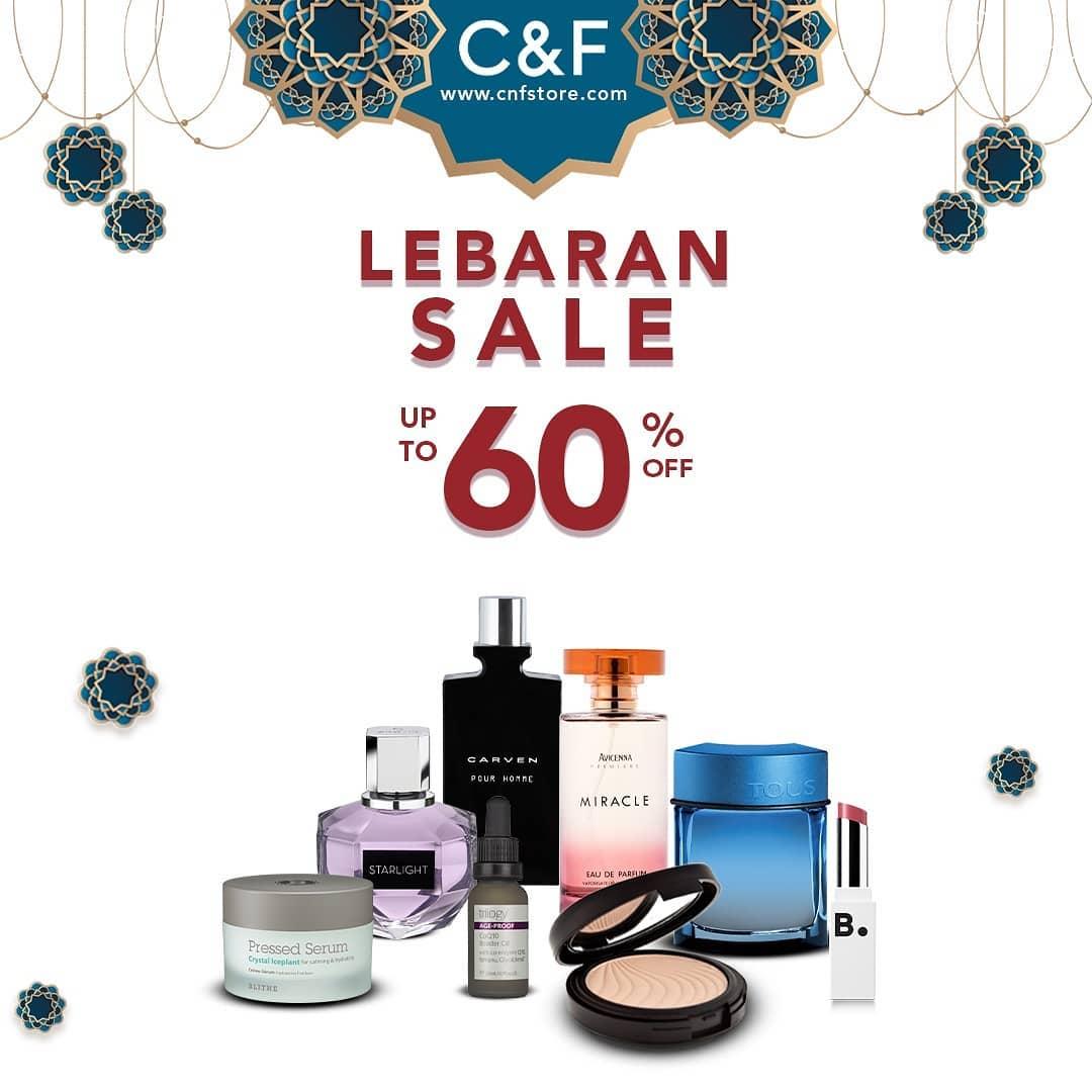 Diskon C&F PERFUMERY Lebaran Sale Diskon hingga 60%