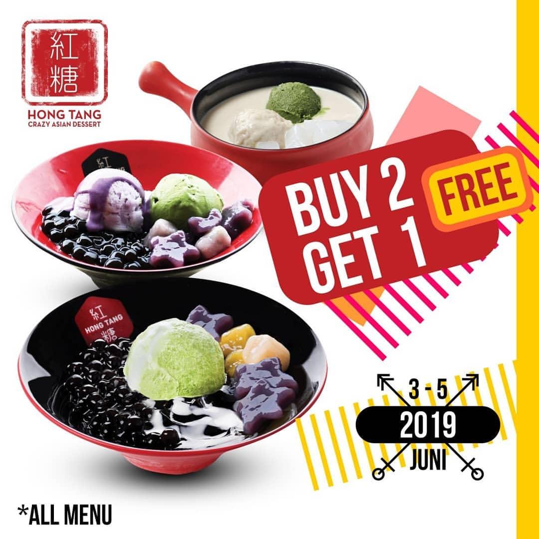HONG TANG Promo BELI 2 GRATIS 1
