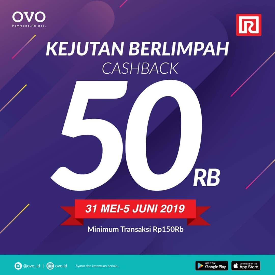 RAMAYANA Promo Cashback Rp.50.000 dengan OVO