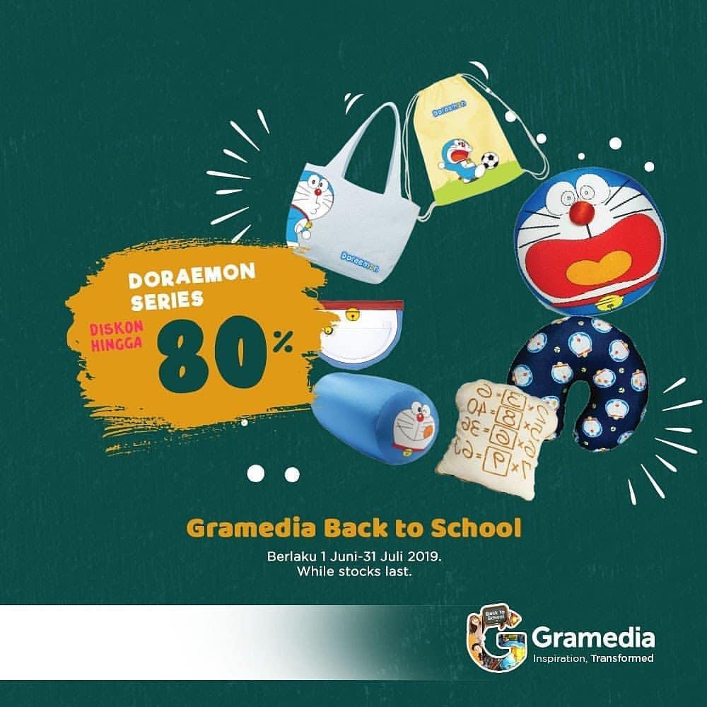 Diskon GRAMEDIA Promo Diskon Hingga 80% untuk Koleksi DORAEMON Series