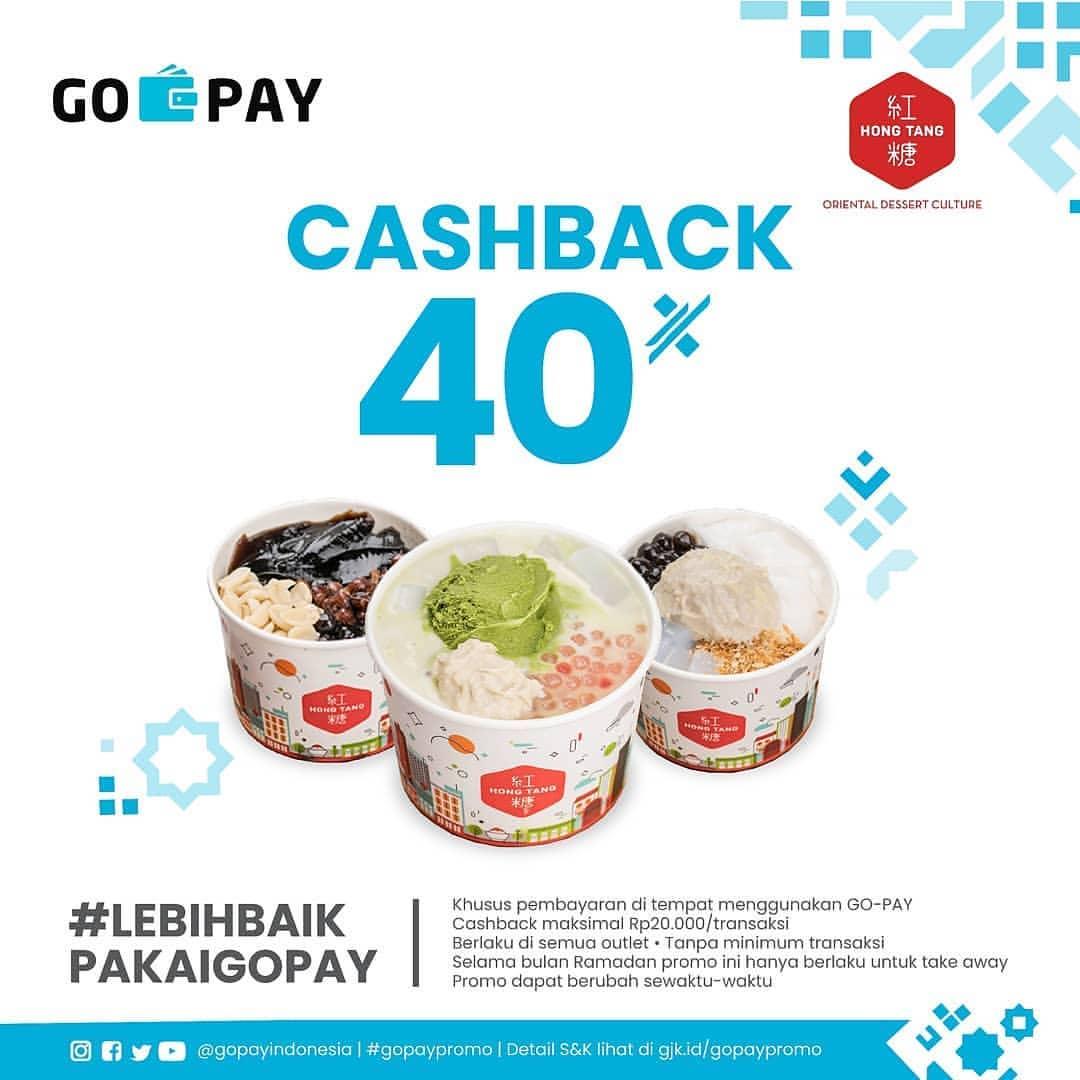 HongTang Promo Cashback 40% dengan GoPay