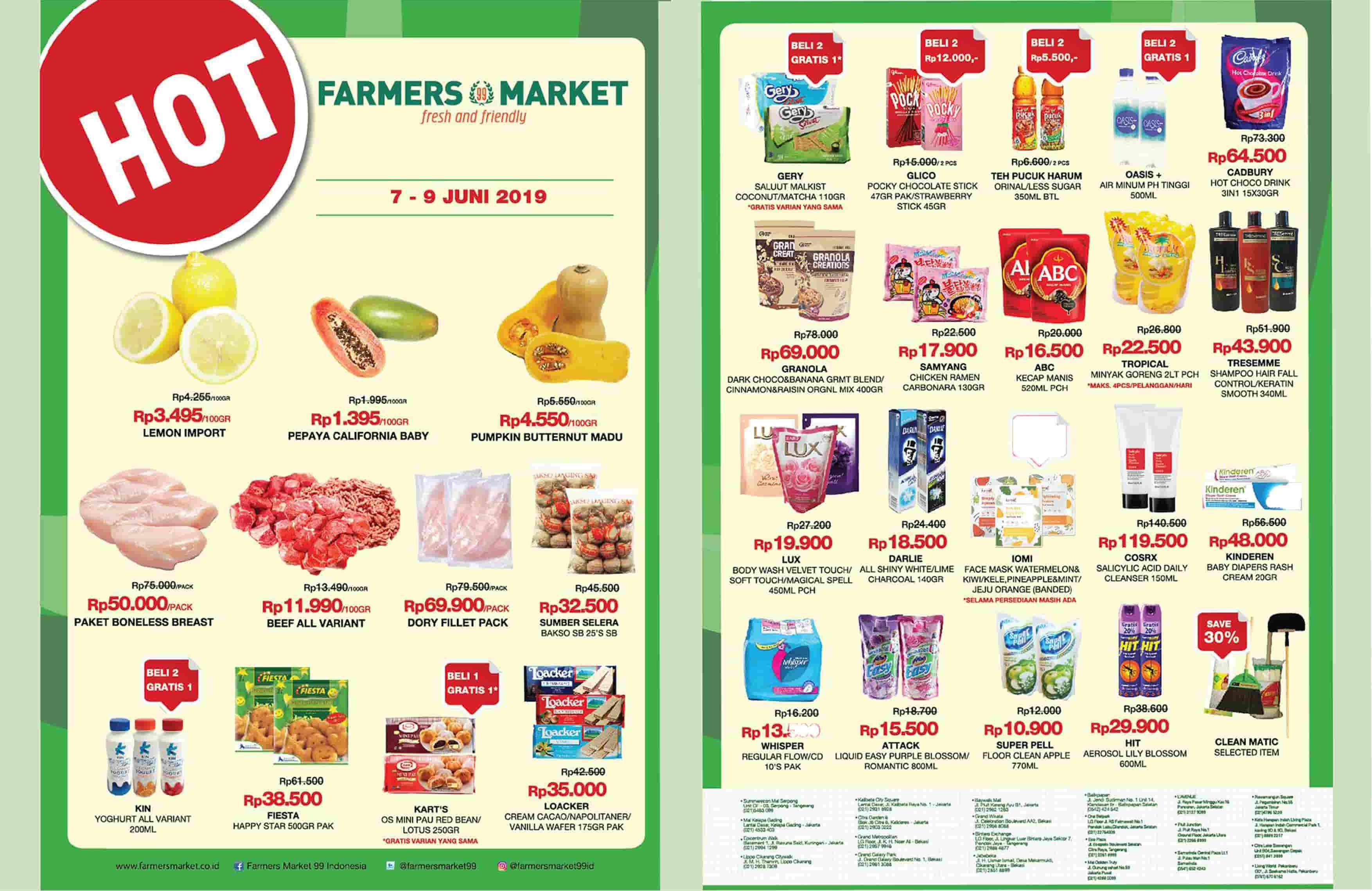 Katalog FARMERS MARKET Promo Weekend periode 07-09 Juni 2019