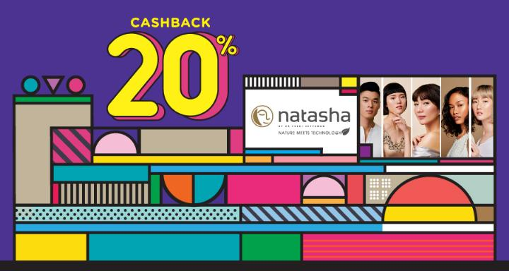 NATASHA SKIN CARE Promo Cashback 20% dengan OVO