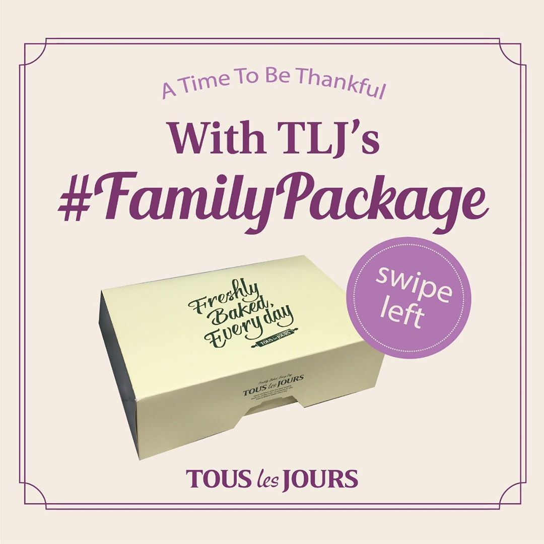 TOUS Les JOURS Promo FAMILY PACKAGE khusus pemesanan via GOFOOD