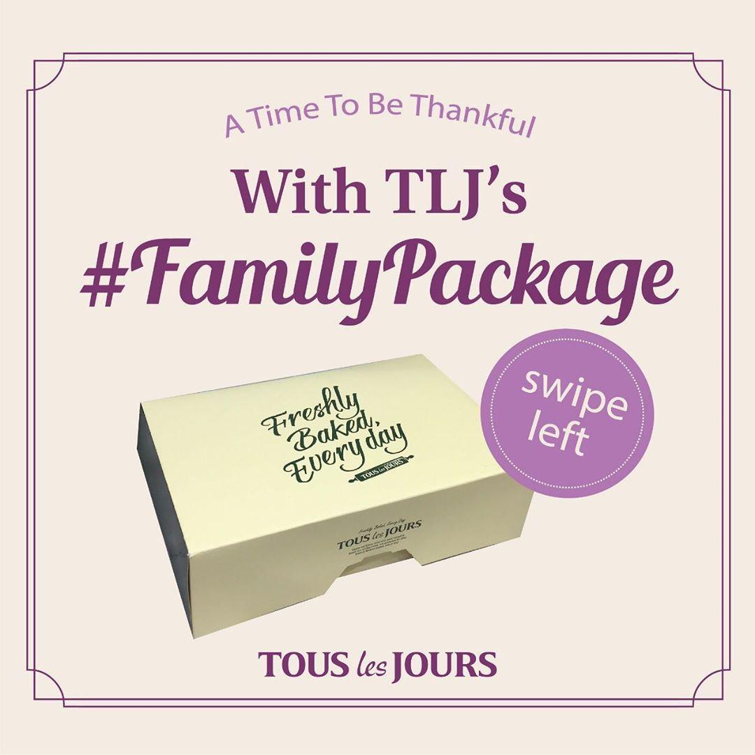 Diskon TOUS Les JOURS Promo FAMILY PACKAGE khusus pemesanan via GOFOOD