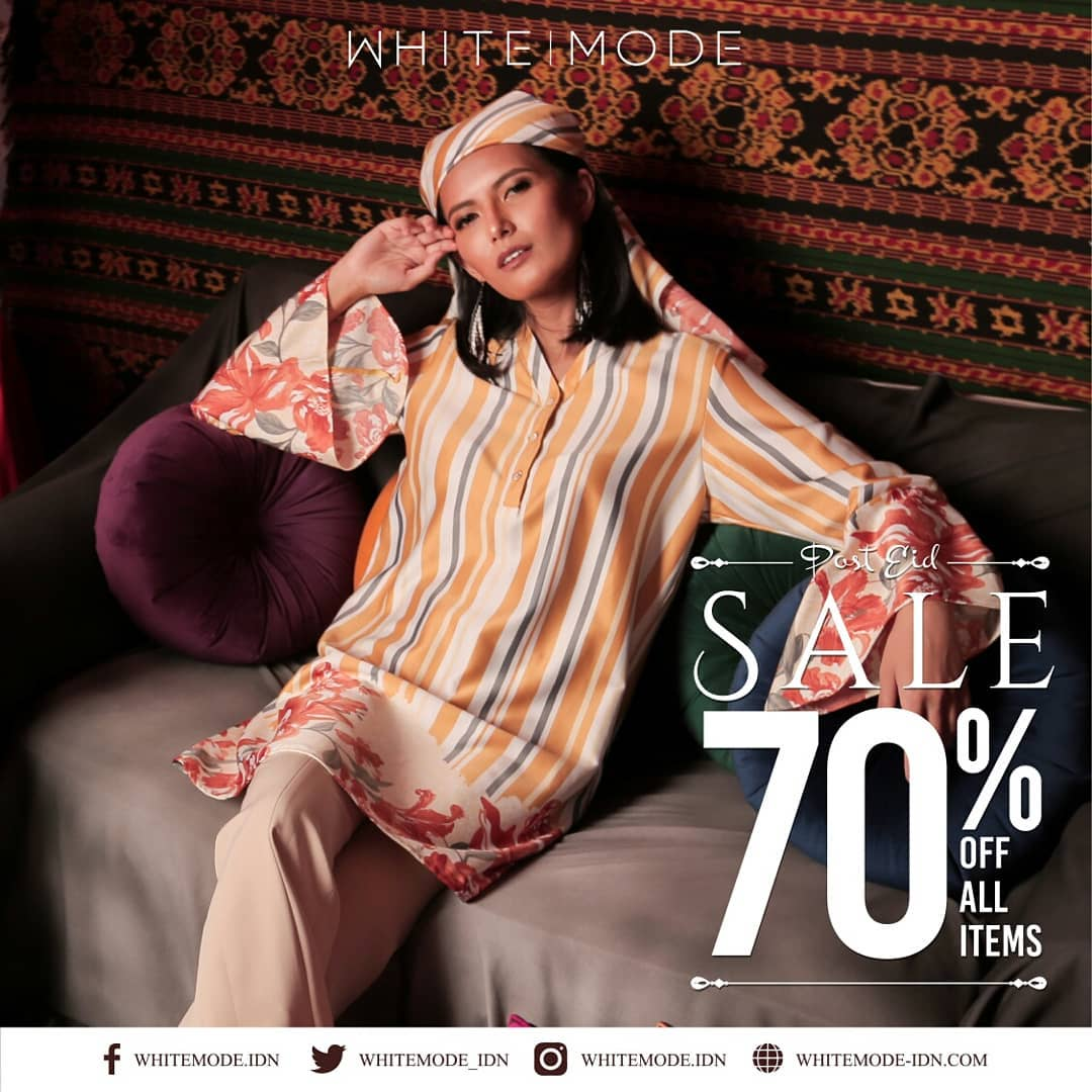 Diskon WHITE MODE Post Ramadhan Sale Discount up to 70% off