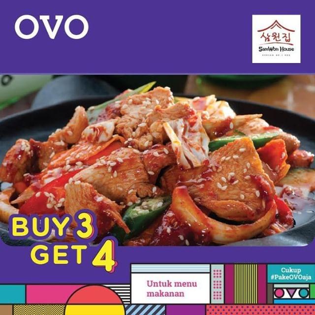 Diskon SAMWON HOUSE Buy 3 Get 4 dengan OVO