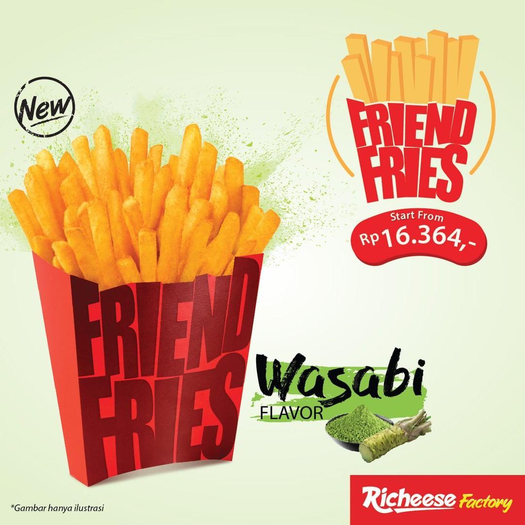 Diskon RICHEESE FACTORY NEW Friend Fries Seasoning Wasabi Harga Mulai Rp.16.364