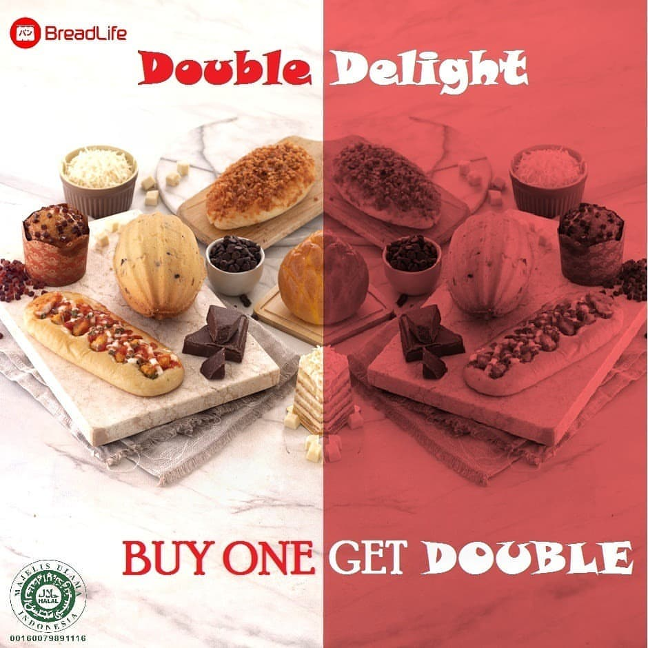Diskon BREADLIFE DOUBLE DELIGHT Buy One Get Double