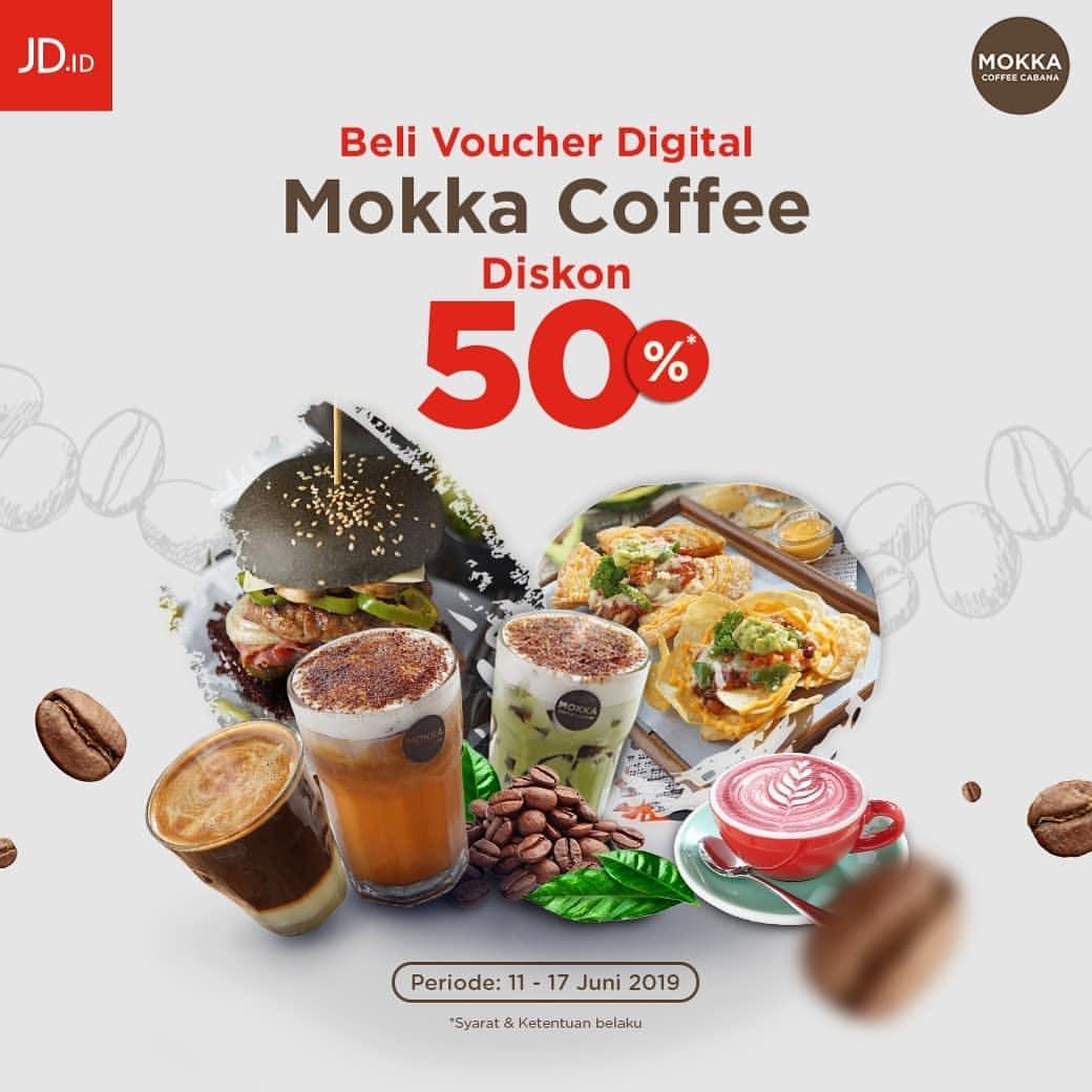 Diskon JD.ID Promo Voucher Mokka Coffee Cabana Diskon 50%