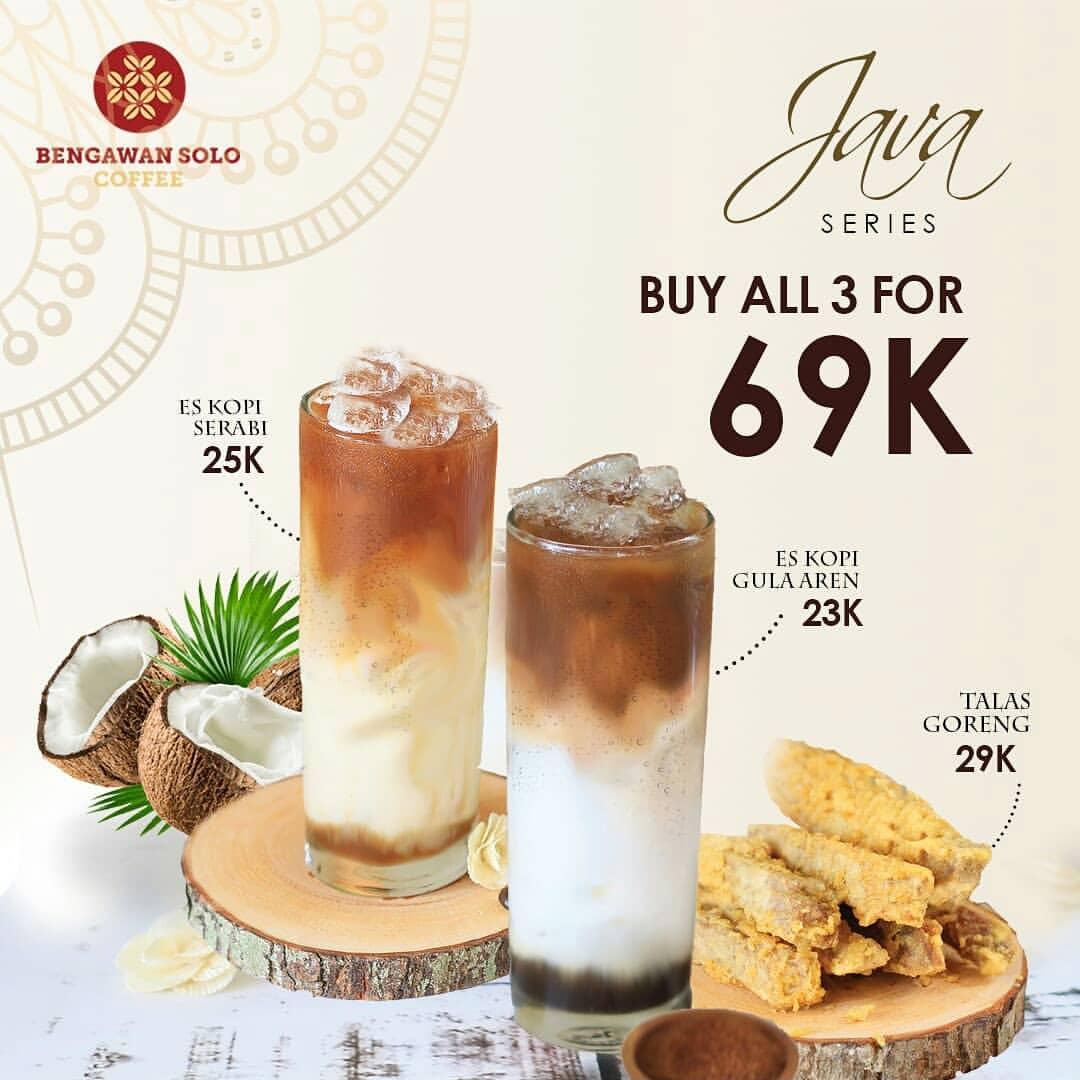 Bengawan Solo Coffee Promo BELI PAKET JAVA SERIES hanya Rp.69.000