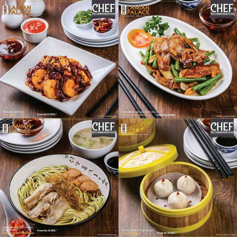 Diskon Lamian Palace Promo Menu Chef Recommendation Harga Spesial mulai Rp. 24.900