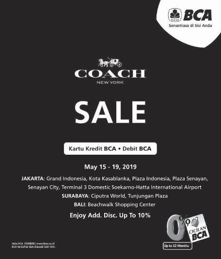 COACH SALE Further Reduction